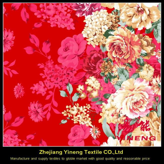 100% poliéster digital tela impresa personalizada perú tejido textil para la hoja de <span class=keywords><strong>cama</strong></span>