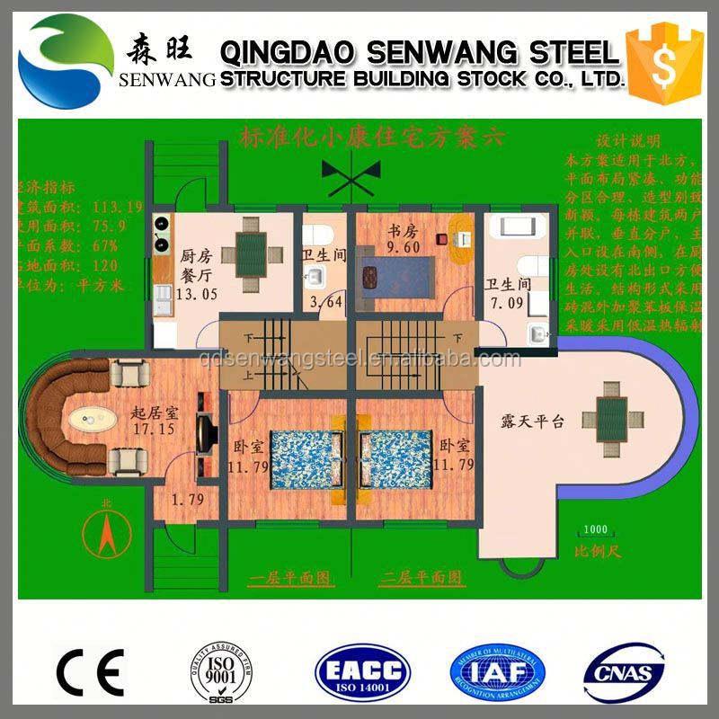 China gran proyecto de casas prefabricadas