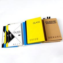 9H 2.5D 3D 5D 6D 9D 10D 11D 0.33mm Packing Box With Screen Custom Screen Protector Packaging Tempered Glass
