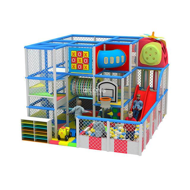 Profesional Material de protección del medio ambiente de los niños jugar centro de juegos interior
