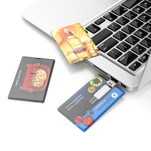 Aangepaste credit card usb flash drive