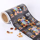 Printing customized automatic PE/VMPET sachet packaging film roll for beans food