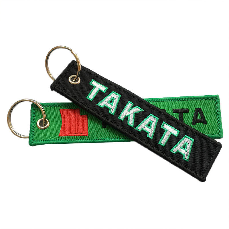 Excellent Supplier Letter Design Custom Keychain Embroidery,Keychain Embroidery,Embroidery Keychain