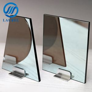 High quality security 10mm 12mm one way mirror glass used for partition