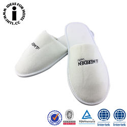 Disposable Hotel White Slippers