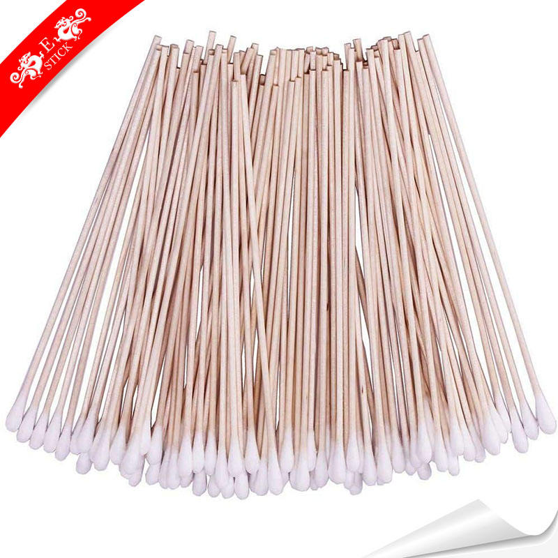 Embroidery cheap long stick cotton swabs for laboratory