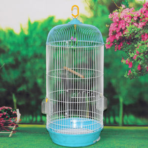 Wire Bird Breeding Cages Round Shape Large Metal Bird Cages for Sale Indonesia Markets