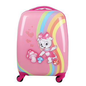 ABS Girly Funky Hardshell Valise Pour les Vacances Scolaires