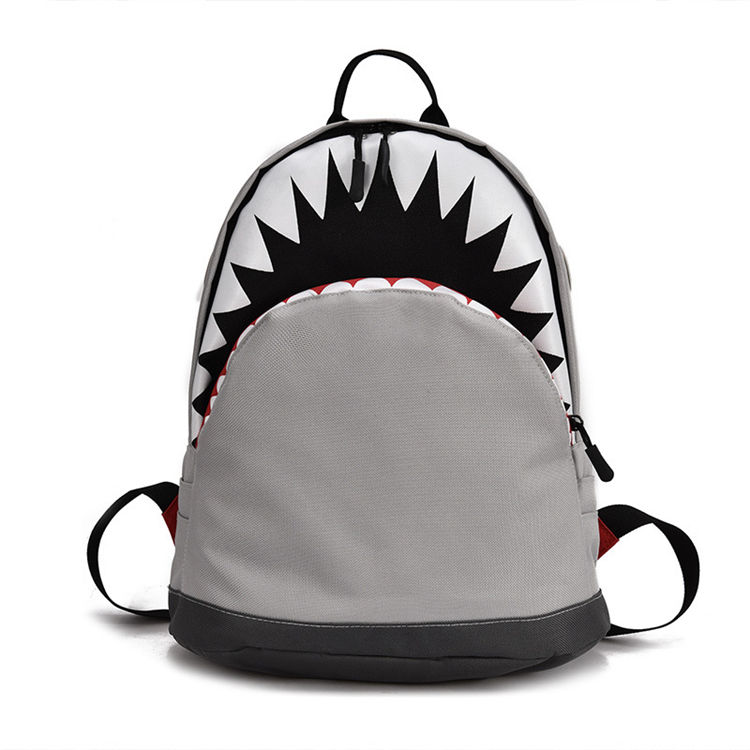 unbranded customisable Low Price zoo anime cut resistant poly christmas shark backpack kids