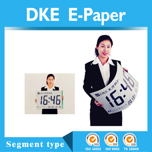 E-ink e-paper display, FPC base Flexibele e-paper display