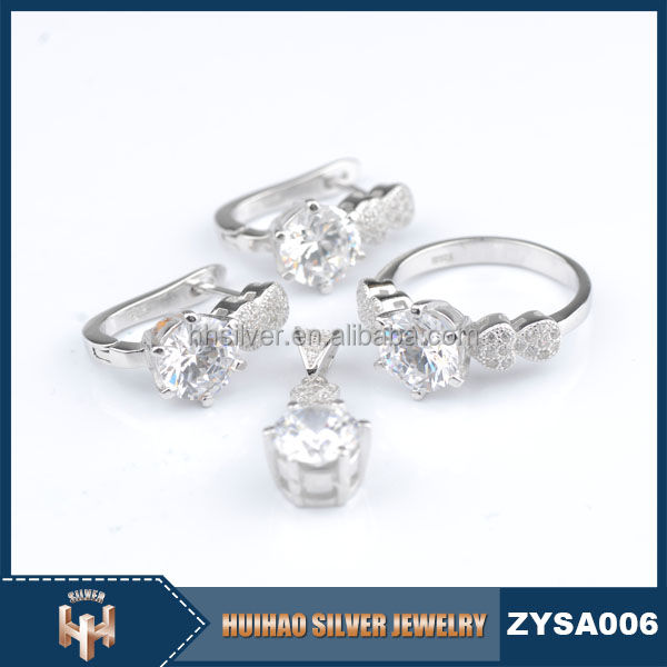 925 sterling silver engagement bijuterias massa