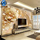 Gold supplier custom design 8d silk 8d name wallpaper for home decoration