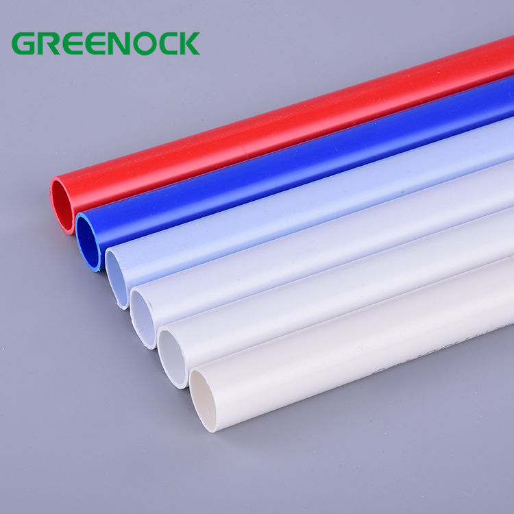 Pvc Pipe [ Pvc Pipe Colored ] Pvcwhite Black Grey Or Up To Your Request All China Plastic Pvc Pipe China Manufacturer Wholesale 16mm 20mm 32mm Pvc Electrical Pipe List Small Diameter Colored Plastic Pvc Pipe