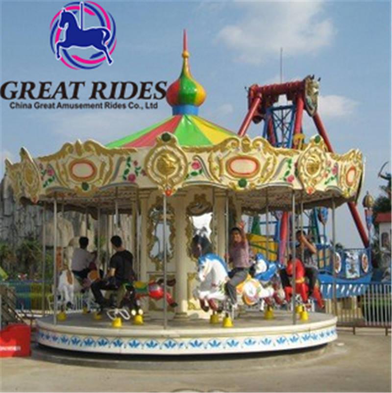 Neue produkte beliebte freizeitpark karussell pferde für verkauf