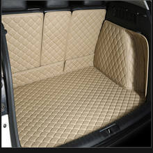 5d leather auto carpet trunk mat for all car models