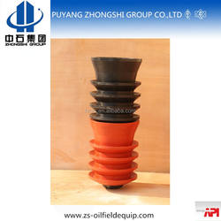 non rotating type cementing rubber plug