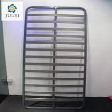 reinforced Flat slatted metal bed frame