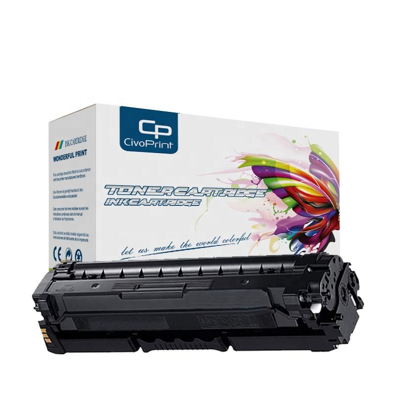4pk Toner for HP CM3530 CP3525 Black Cyan Magenta Yellow CE250 CE251 CE252 CE253