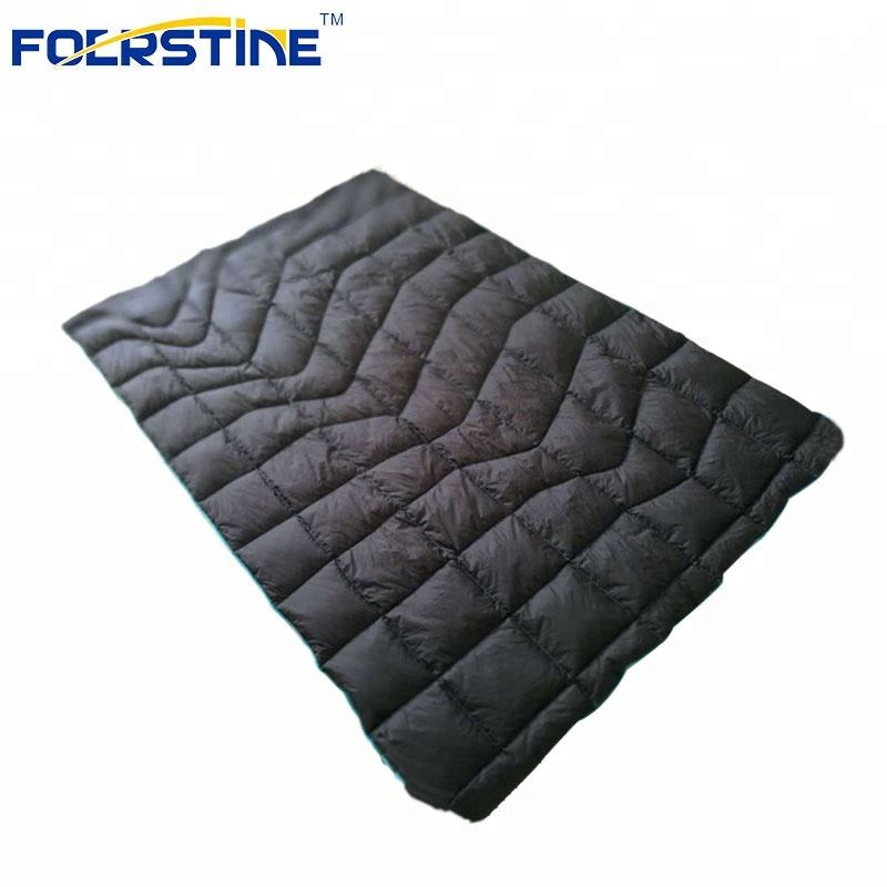 400T 20D nylon Lining Travel goose down quilt blanket Sleeping bag for camping silk sleeping bag