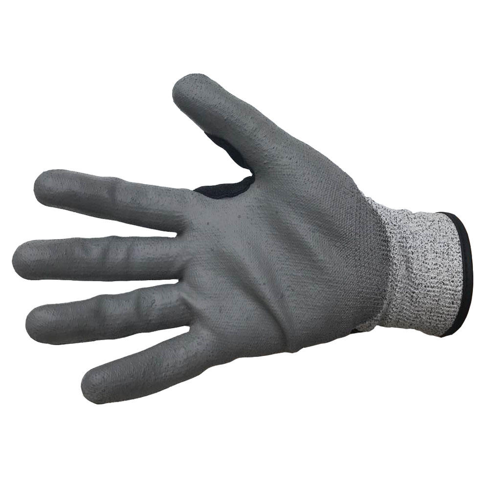 Anti Impact Nitrile Safety Gloves Cut Resistant Gloves No-slip And Oilfield Leather Gloves