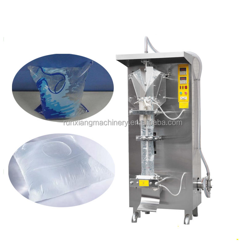 Price automatic vertical pure fresh mineral water milk honey juice oil shampoo liquid plastic pouch bag packing machine