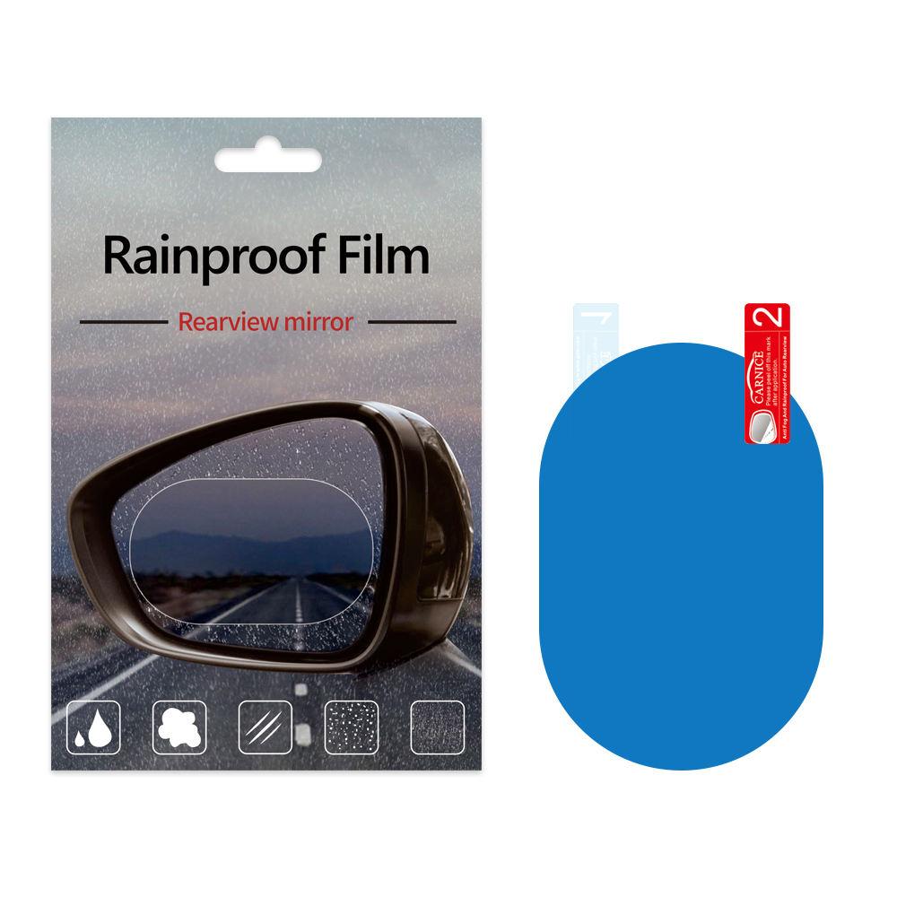 6 Pi/èces Film R/étroviseur de Voiture Imperm/éable Anti-Pluie Anti-bu/ée Film de R/étroviseur Universelle Film Etanche Lat/éral de Voiture 200 * 175mm,95 * 135mm,100mm*100mm