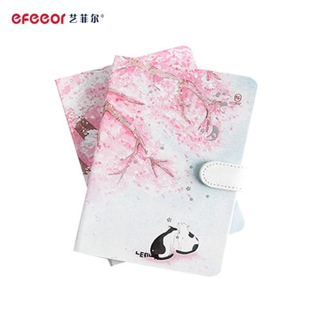 Cheap Address Books A5 PU Leather Notebook