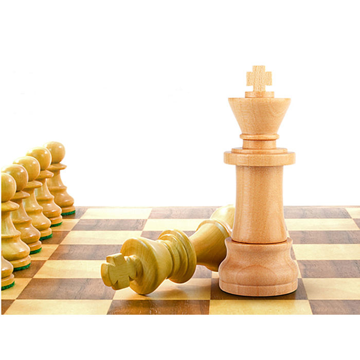 Stick King Piece Thumb International Chess Wooden USB Flash Drive