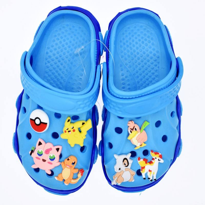 Azione Pokemon Design IN Gomma PVC Fascini del Pattino Fibbie Accessori Decorazioni Per Scarpe Croc XH-34