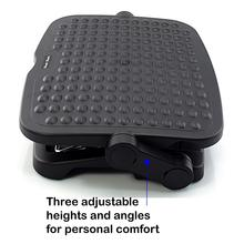 Ergo-Comfort Adjustable Footrest foot stool ergonomic foot rest