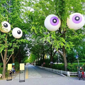 Inflatable eyeball for scaring bird scare-eye repellent Brilliant Outdoor Concert Party Ideas Air blow up balloon