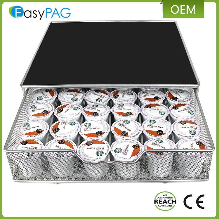 EasyPAG металлического железа сетки 36 к-чашки для хранения кофе pod выдвижной <span class=keywords><strong>держатель</strong></span>