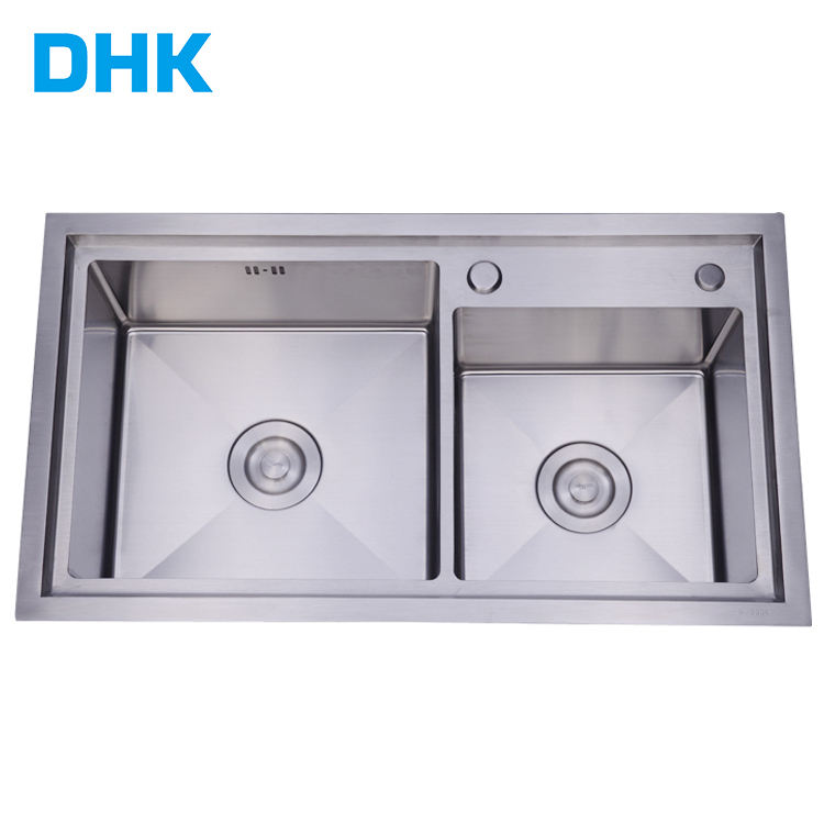 Economic SUS304 Stainless Steel Farmhouse Single Bowl Kitchen Sink