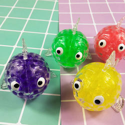 hot sell squeezing stress relief toy 8cm bead stress ball free sample supply//
