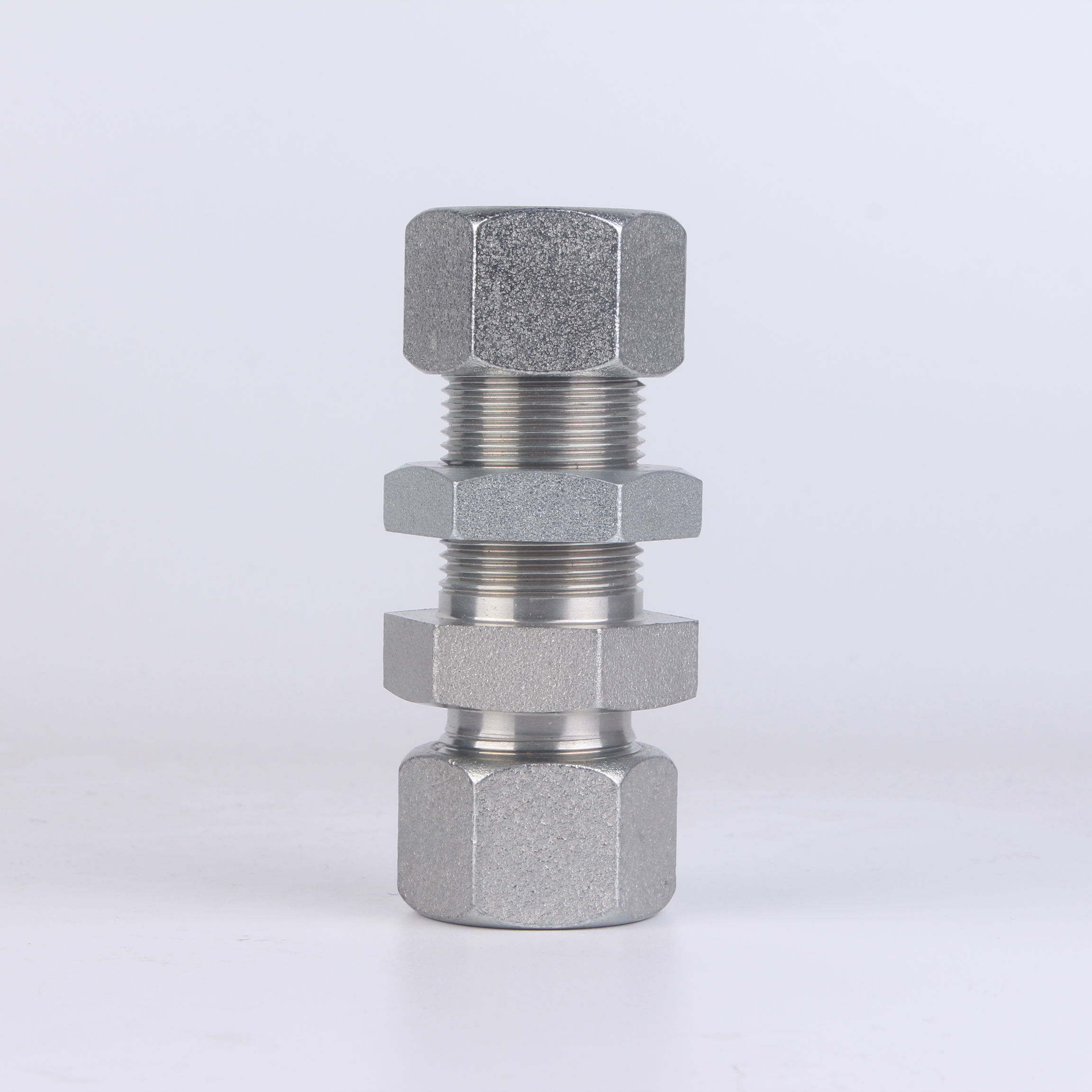 "Adaptador Hidráulico 1//2/"" BSP MacHo X 1//2 BSP Giratoria Hembra 60 ° bomba de cono de acero"