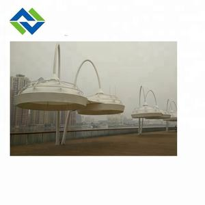 PTFE architectural membrane tension shade structures