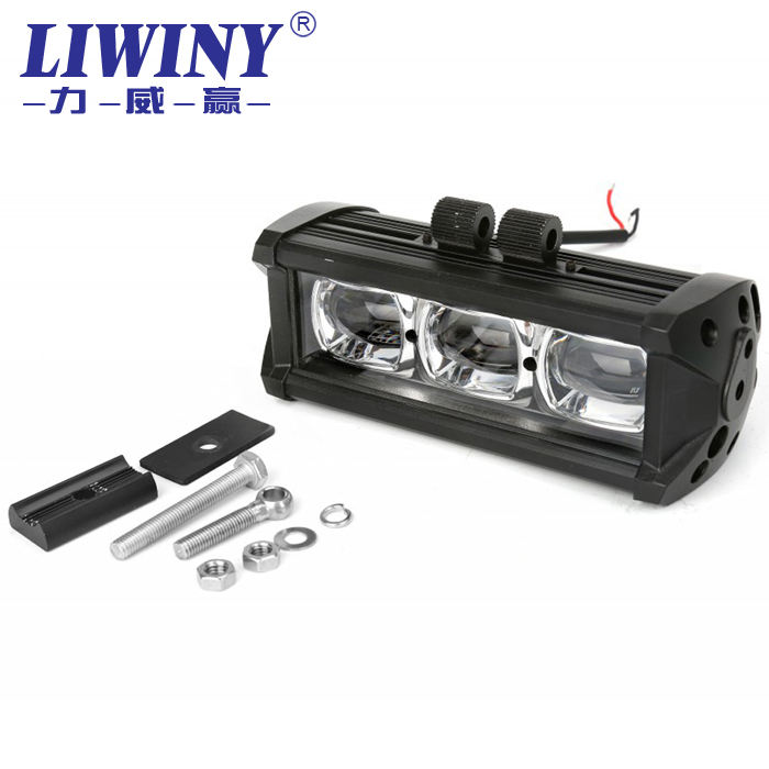 "Liwiny Isi Ulang Lampu Bar 21 ""Led Light Bar 90W Lw Offroad Led Light Bar untuk UTV ATV Perahu Rv Aksesoris"