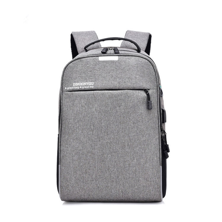 Wholesale leisure trending Stylish design business waterproof anti theft laptop backpacks with locking