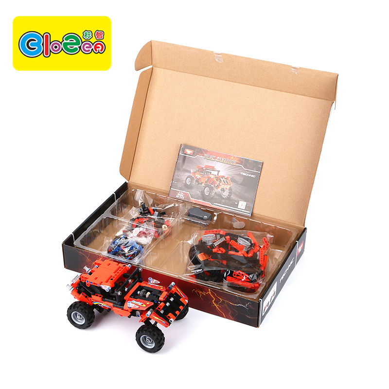 Y58406 Factory Direct Sales Puzzle ABS Block Toys Red Peak Climber