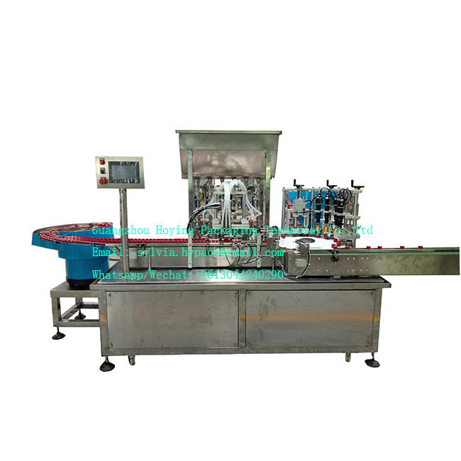 Full automatic cream/paste/ointment filling production line