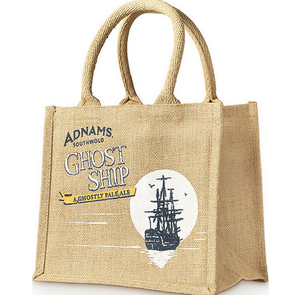 Wholesale customized eco friendly jute shopping tote bag
