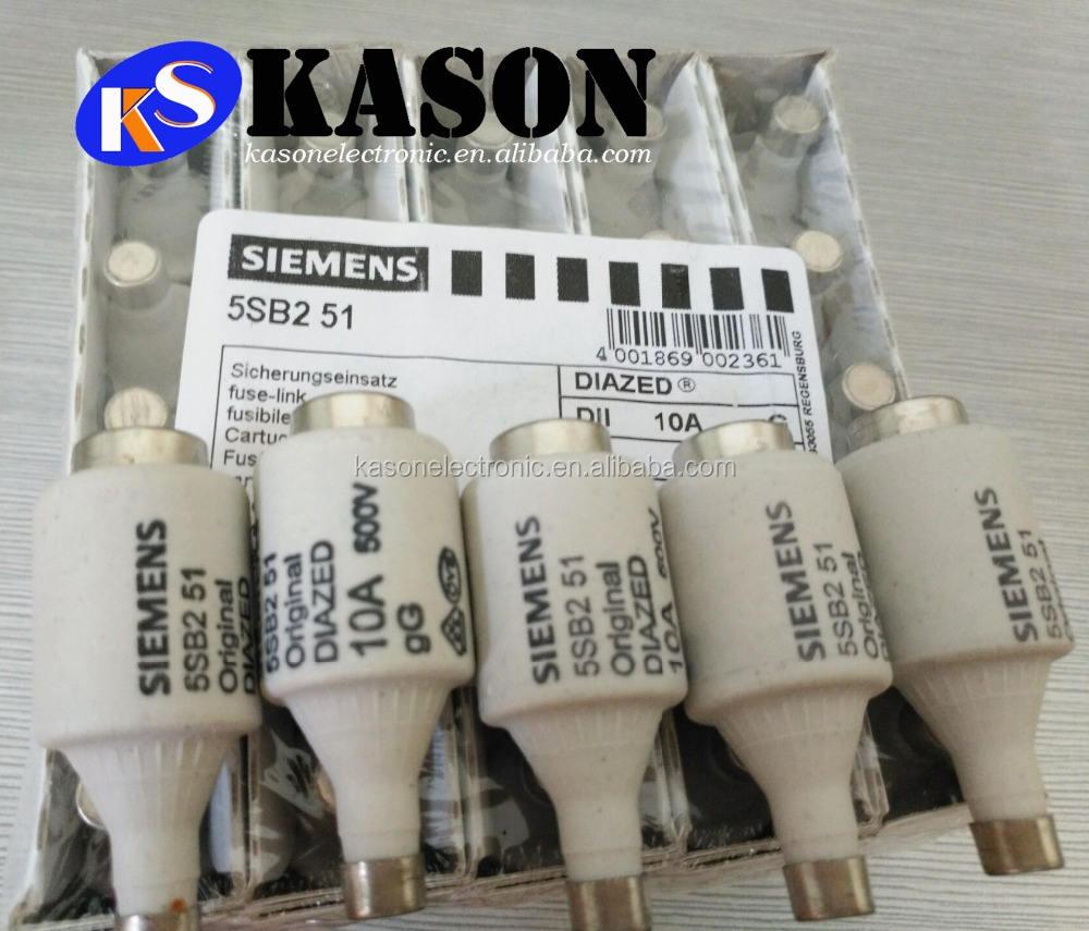 Siemens NEOZED-10 Ceramic Bottle Fuse 10amp  USED