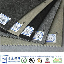 Polyester fireproof car insulation interior upholstery felt fabric