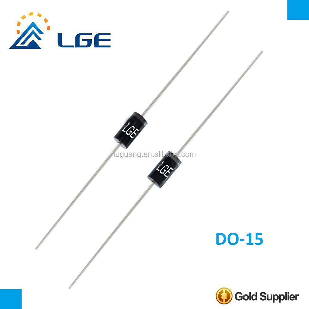On Semiconductor RECTIFIER FAST 600V 2A DO-204AL MUR260RLG Pack of 5