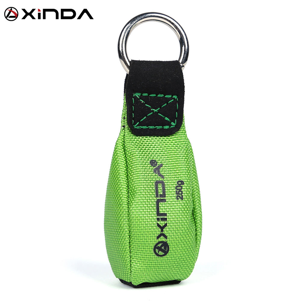 XINDA arborist throw weight throw bag for tree climbing traction