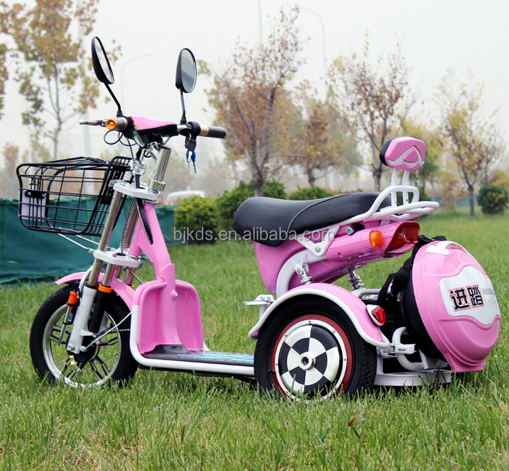3 wheels tricycle electric bike disabled scooter CE mobility scooter