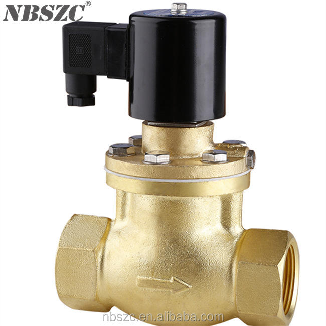 High quality high temperature steam iron solenoid valve with normally open type