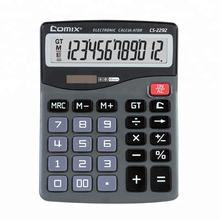 2018  12 digits  Solar and Battery Dual Power desktop calculators for office