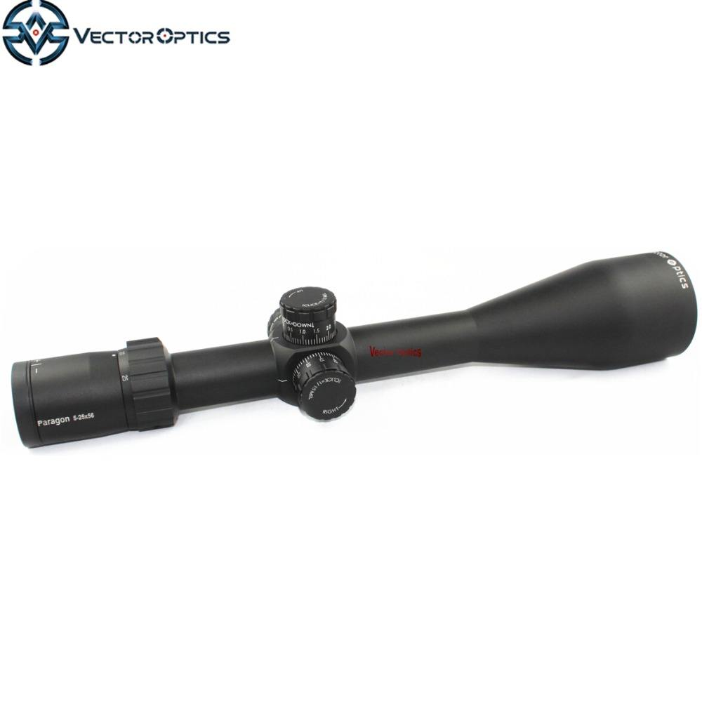 Paragon 5-25X56 Taktis Riflescope Rifle Lingkup Optik dengan Jerman Kaca 1/10Mil 1 CM untuk 4 KM Long Range Sniper Berburu Shooting