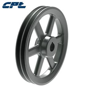 CPT 2BK105 Arm Type 6 Rims Double Groove Cast Iron 2BK 10 Inch V Belt Pulley 1 inch Bore
